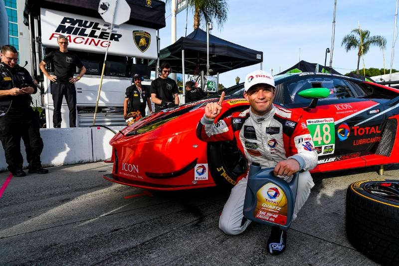 TOTAL Pole Position for Paul Miller Racing at Long Beach Grand Prix