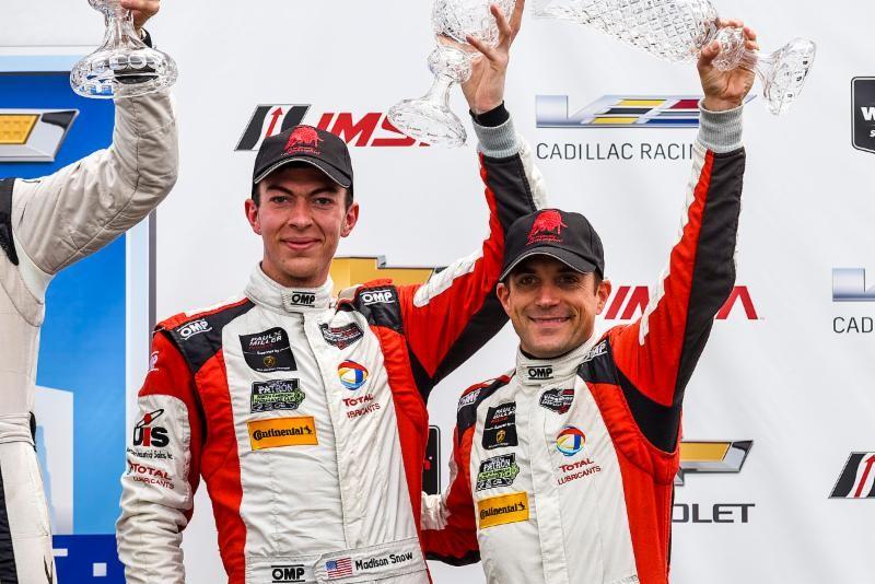 Paul Miller Racing Scores First Podium of 2017 in Detroit