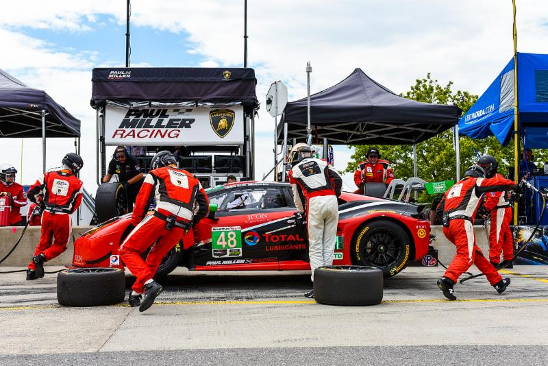 Paul Miller Racing Finishes Eighth in  SportsCar Grand Prix