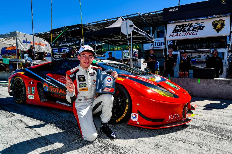 Snow Captures Third Pole for Paul Miller Racing in Monterey