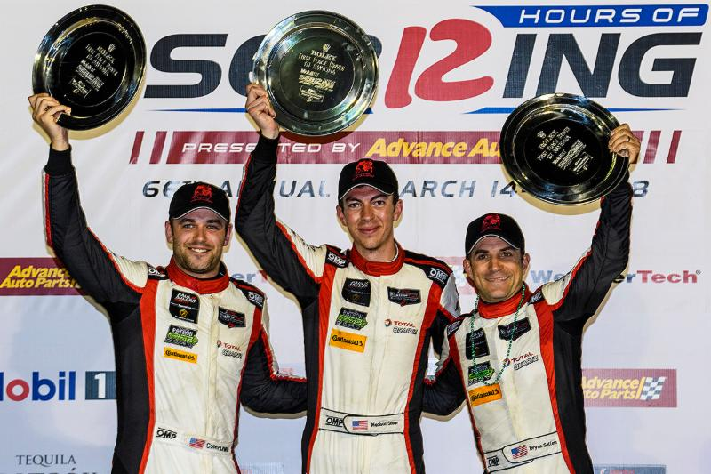 Paul Miller Racing Takes Championship Lead with Sebring Twelve Hour Triumph