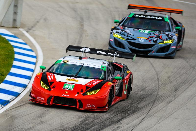 Paul Miller Racing Finishes Third in Detroit