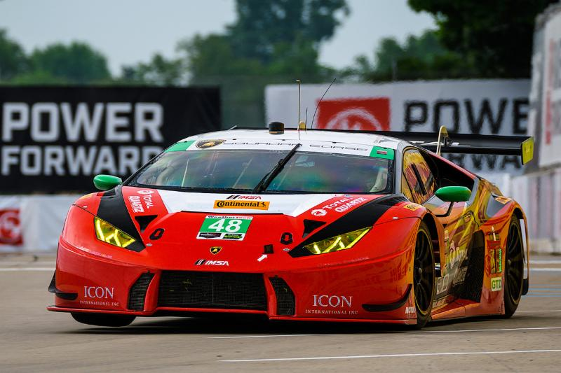 Bryan Sellers Dominates GTD Qualifying, Clinches Pole for Paul Miller Racing in Detroit