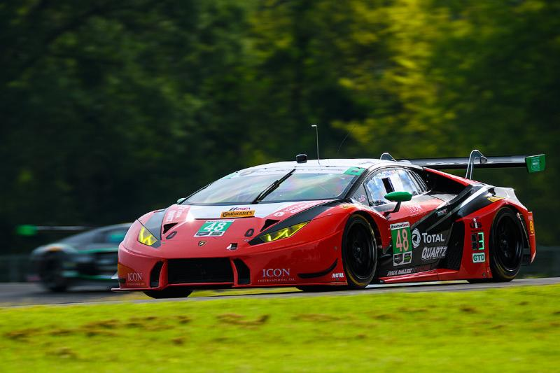 Weather Hampers GTD Qualifying Effort at Virginia International Raceway