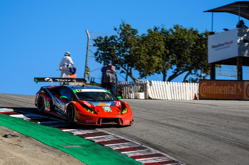 Paul Miller Keeps GTD Points Lead after Fourth Place Finish at Laguna Seca