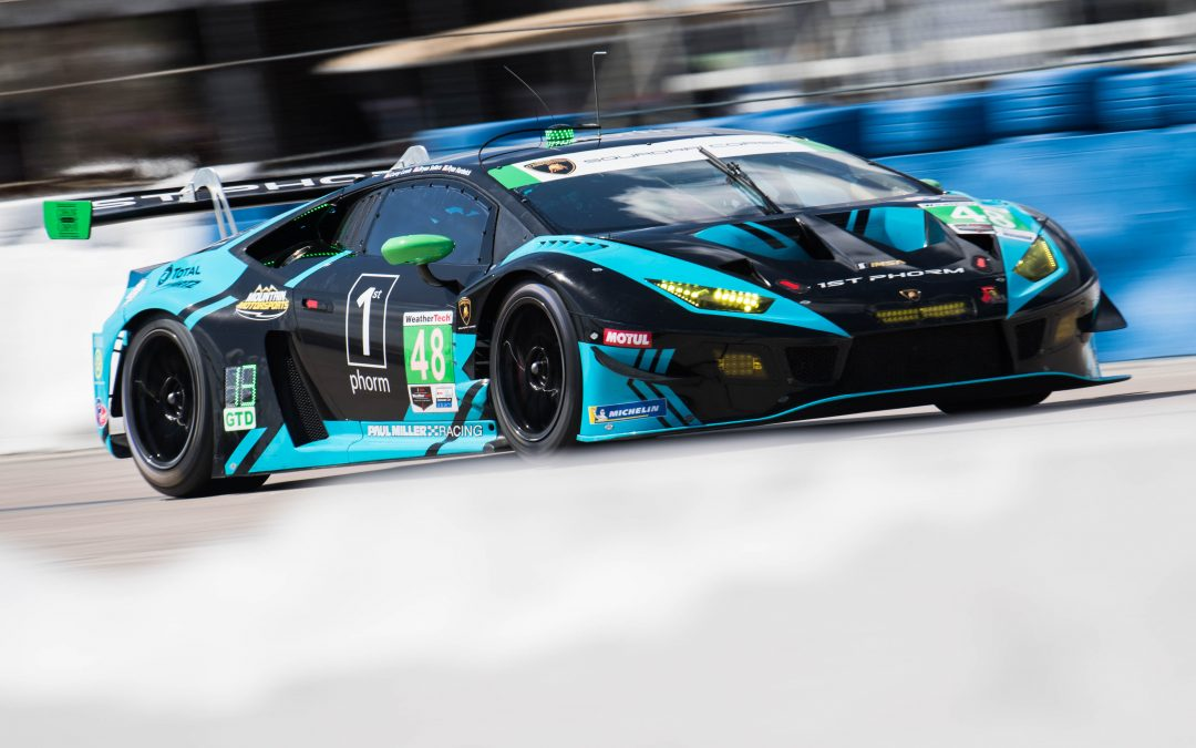 Paul Miller Racing Lamborghini squad chasing more Mid-Ohio podiums