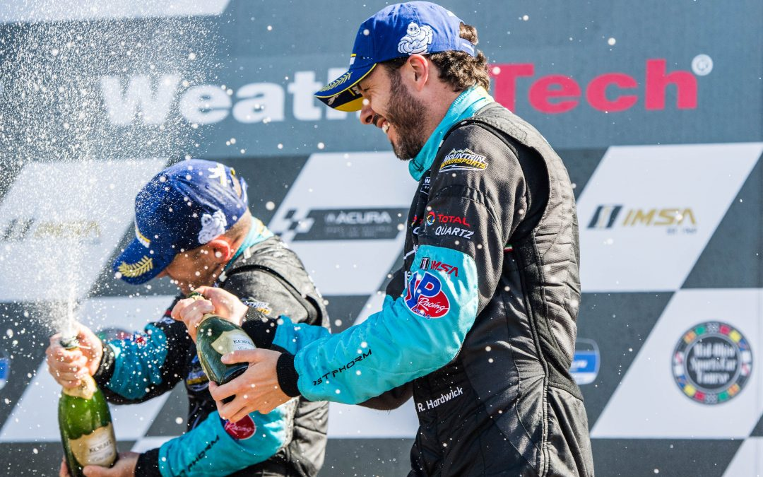 Paul Miller Racing Lamborghini score first 2019 podium at Mid-Ohio