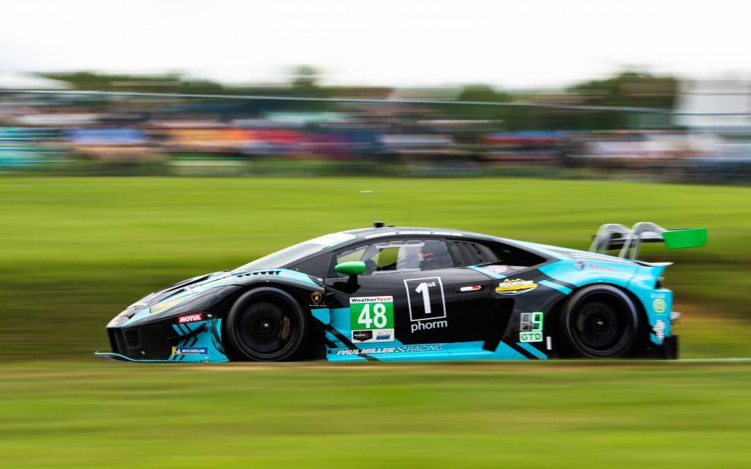 Paul Miller Racing fast but unlucky at VIR