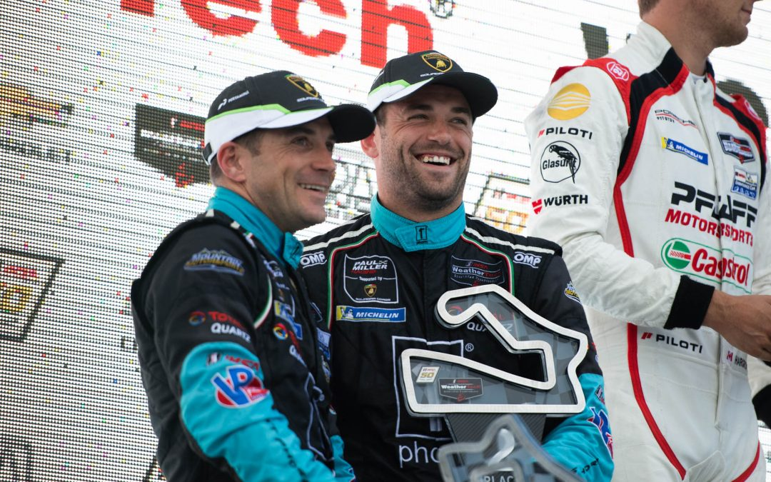 Paul Miller Racing converts front row start to podium finish at Road America