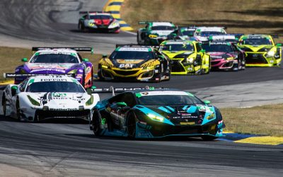 Late-race charge by Paul Miller Racing earns manufacturer's championship for Lamborghini