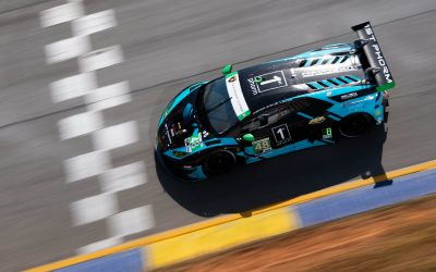 Paul Miller Racing earns home-town pole position for Lamborghini