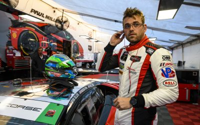 "Lewis returns to complete Paul Miller Racing Lamborghini ""dream team"""