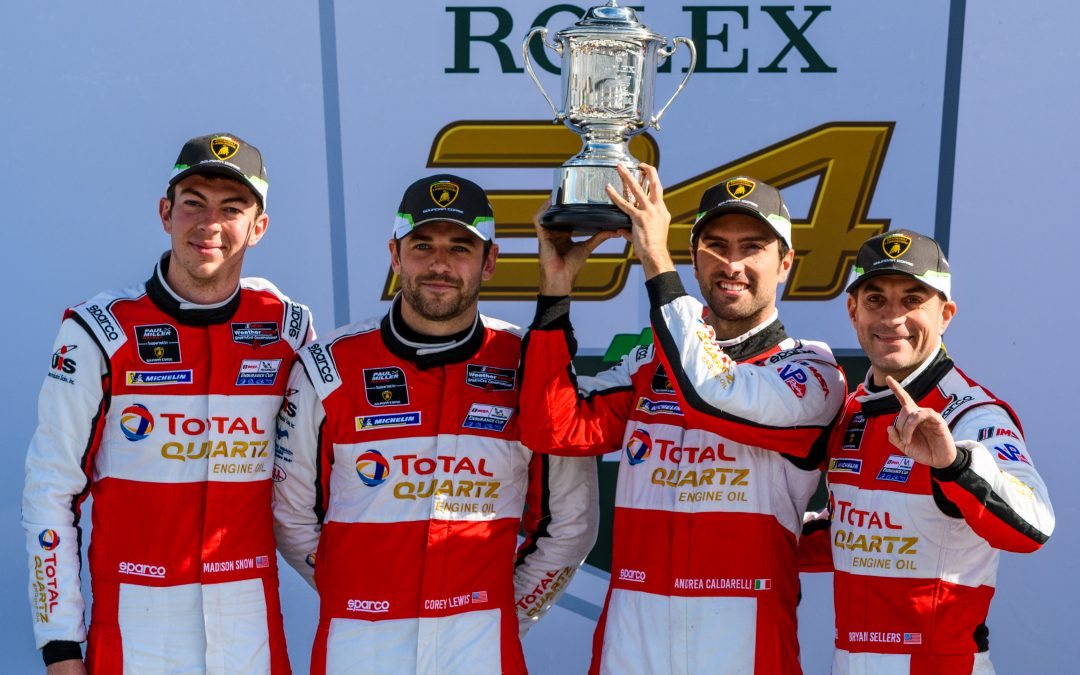 Paul Miller Racing Lamborghini squad takes dominant win at the Rolex 24 at Daytona