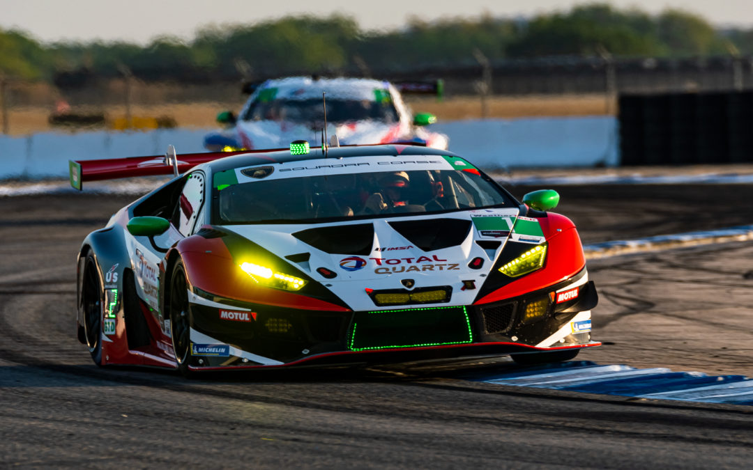 Contact ruins Paul Miller Racing's strong day at Sebring