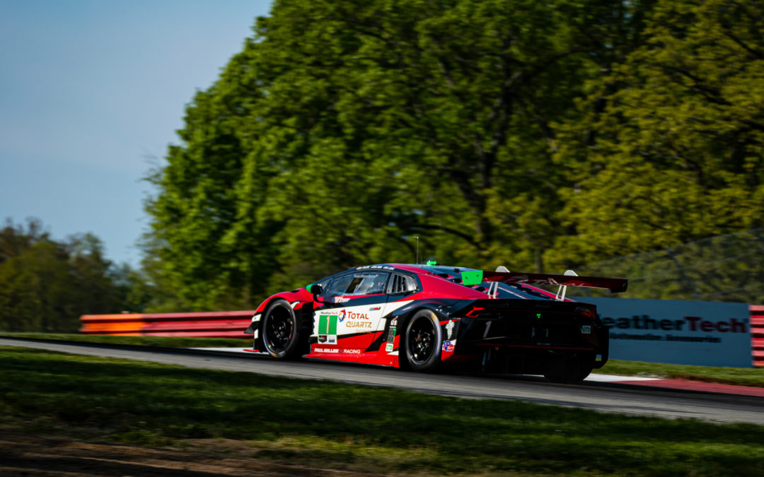 Paul Miller Racing fifth on the grid at Mid-Ohio