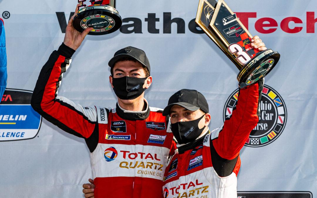 Podium finish for Paul Miller Racing in Ohio