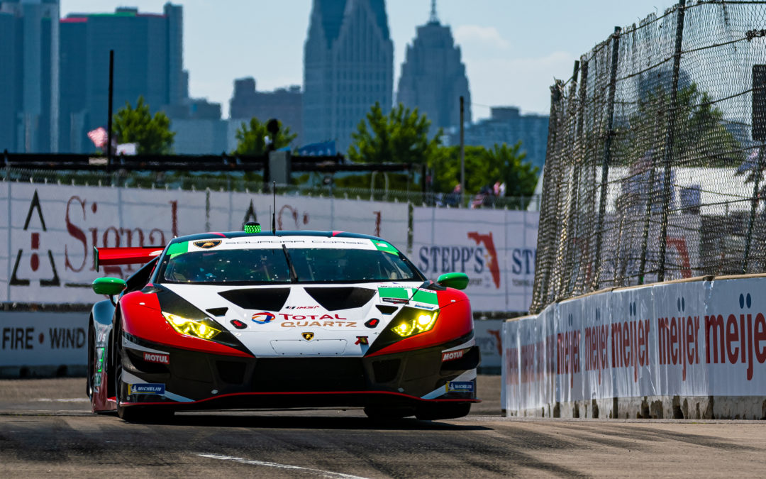 Sixth on the grid for Paul Miller Racing after engine change in Detroit
