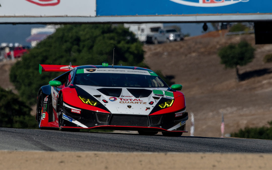 Fourth on the grid for Paul Miller Racing at Laguna Seca